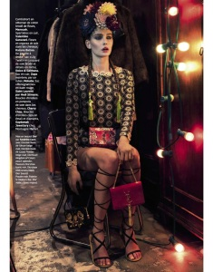 Petra Hegedus By Honer Akrawi For Grazia France 20th March 2015 (3)
