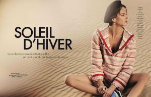Shannan Click by Laura Sciacovelli for Elle France January 9th, 2015 (1)