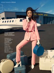 Tian Yi & Elsa Hosk by KT Auleta for Vogue China January 2015 (9)