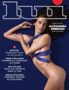 Alessandra Ambrosio By Liz Collins For Lui November 2014 (1)