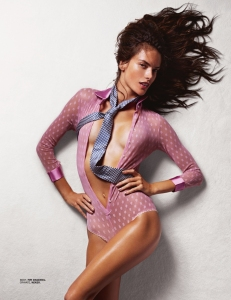 Alessandra Ambrosio By Liz Collins For Lui November 2014 (3)