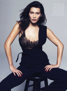 Bella Hadid by David Bellemere for US Elle May 2015 (2)
