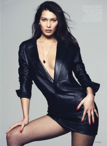 Bella Hadid by David Bellemere for US Elle May 2015 (4)