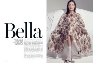 Bella Hadid By Robbie Fimmano For Vogue Australia April 2015 (1)