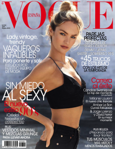 Candice Swanepoel By Mariano Vivanco For Vogue Spain April 2013 (1)