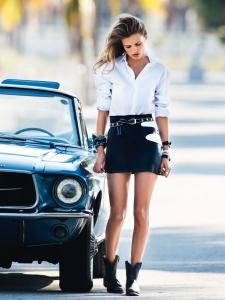Edita Vilkeviciute By Gilles Bensimon For Vogue Paris June  July 2015 (4)