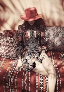 Freja Beha Erichsen By Glen Luchford For Uk Vogue June 2015 (1)
