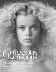 Frida Aasen By Blommers Schumm For Vogue Netherlands September 2013 (1)