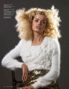 Frida Aasen By Blommers Schumm For Vogue Netherlands September 2013 (9)