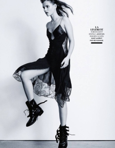 Giedre Dukauskaite by Pamela Hanson for Madame Figaro 28th March 2014 (3)