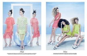 Izabele Paludo, Lorena Maraschi, Waleska Gorczevski , Ana Claudia Michels, Caroline Ribeiro and Mariana Weickert by Zee Nunes for Vogue Brazil August 2013 (2)