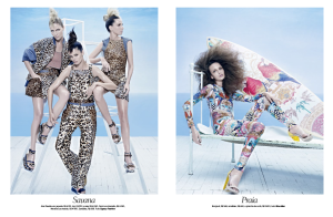 Izabele Paludo, Lorena Maraschi, Waleska Gorczevski , Ana Claudia Michels, Caroline Ribeiro and Mariana Weickert by Zee Nunes for Vogue Brazil August 2013 (6)