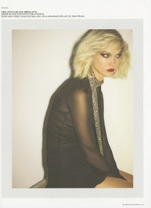 Karlie Kloss by Ezra Petronio for Self Service FW 2013  (1)