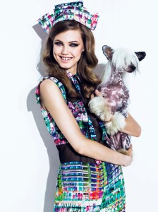 Lindsey Wixson By Jacques Dequeker For Vogue Brasil August 2013 (3)