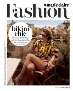 Milou Sluis by Dennison Bertram for Marie Claire Netherlands August 2013  (1)
