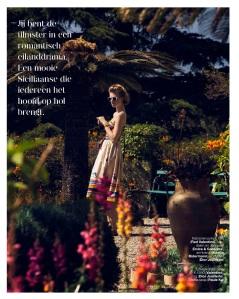 Milou Sluis by Dennison Bertram for Marie Claire Netherlands August 2013  (3)