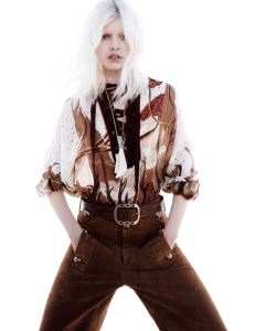 Ola Rudnicka by Jan Welters for Vogue Netherlands May 2015 (1)