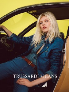 Ola Rudnicka by Roe Ethridge for Tru Trussardi Spring Summer 2015 (1)