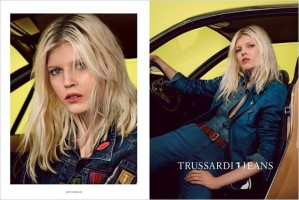 Ola Rudnicka by Roe Ethridge for Tru Trussardi Spring Summer 2015 (3)
