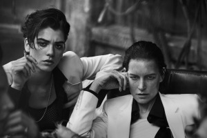Sasha Pivovarova, Guinevere Van Seenus, Steffy Argelich And Kirsten Owen By Peter Lindbergh For Vogue Italia May 2015 (3)