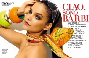 Barbara Palvin By Giovanni Gastel For Glamour Italia July 2013 (2)