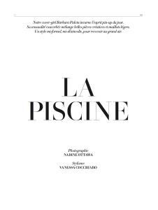 Barbara Palvin By Nadine Ottawa For L'officiel Paris June  July 2015 (1)
