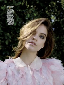 Barbara Palvin By Nadine Ottawa For L'officiel Paris June  July 2015 (2)