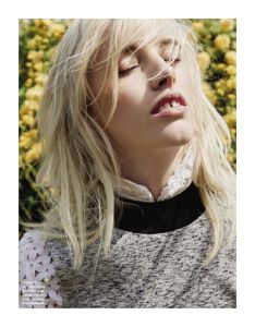 Becca Horn by Alastair Strong for Grazia France 5th June 2015 (4)
