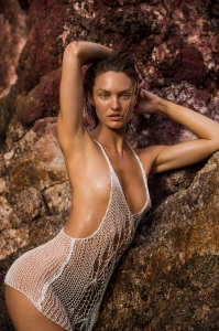 Candice Swanepoel by Gilles Bensimon for Maxim March 2015 (Outtake) (2)