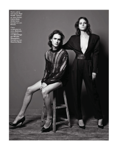 Claire Collins And Martin Rocchia By Alastair Strong For Grazia France 10th May 2013 (3)