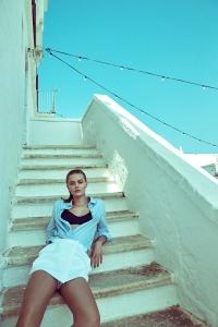 Frida Gustavsson By Andreas Sjodin For Elle Sweden July 2015 (1)