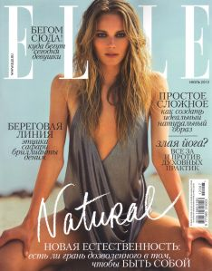 Ieva Laguna By David Bellemere For Elle Russia July 2012 (1)