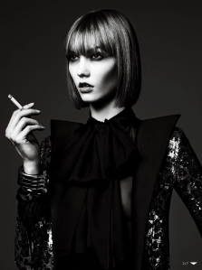 Karlie Kloss By Hedi Slimane For Vogue Japan June 2013 (3)