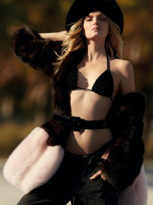 Lily Donaldson By Hans Feurer For Vogue Brasil 'Miami Supplement' July 2015 (7)