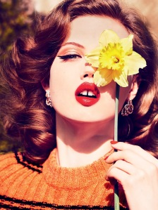 Lindsey Wixson By Ellen Von Unwerth For Vogue Russia July 2015 (1)
