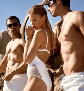 Marloes Horst, Peter Winkler And Garrett Overbey By Carter Smith For Allure June 2015 (2)