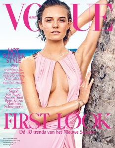 Nimue Smit By Marc De Groot For Vogue Netherlands July  August 2015 (1)