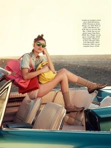 Staz Lindes By Jason Kim For Glamour France April 2014 (6)