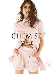 Vlada Saulchenkova by Alvaro Beamud Cortes for Glamour France May 2014 (1)