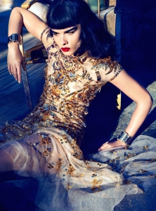 Crystal Renn by Camilla Akrans for Vogue Japan June 2012 (1)