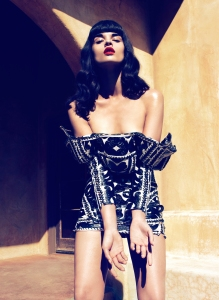 Crystal Renn by Camilla Akrans for Vogue Japan June 2012 (2)