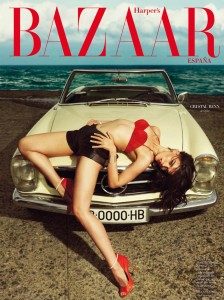 Crystal Renn By Nico For Harper's Bazaar Spain JulyAugust 2013 (2)