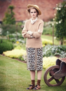 Elinor Weedon By Tom Allen For Uk Harper's Bazaar October 2013 (3)