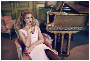 Erin Heatherton By Koray Birand For Elle Russia November 2013 (2)