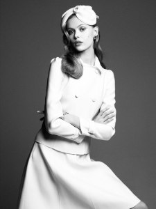Frida Gustavsson by Victor Demarchelier for Vogue Japan August 2012 (2)