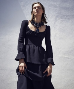 Karolin Wolter By Nathaniel Goldberg For Us Harper's Bazaar September 2015 (1)