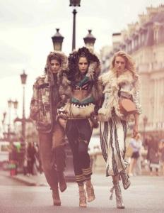 Larissa Hofmann, Melina Gesto And Sanne Vloet By David Bellemere For Vogue Spain September 2015 (1)