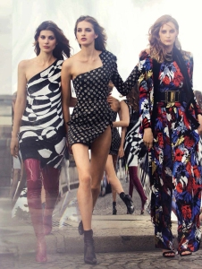 Larissa Hofmann, Melina Gesto And Sanne Vloet By David Bellemere For Vogue Spain September 2015 (2)