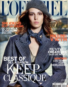 Ruby Aldridge By Taki Bibelas For L'officiel Paris August 2013 (1)