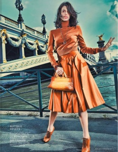 Ruby Aldridge By Taki Bibelas For L'officiel Paris August 2013 (3)